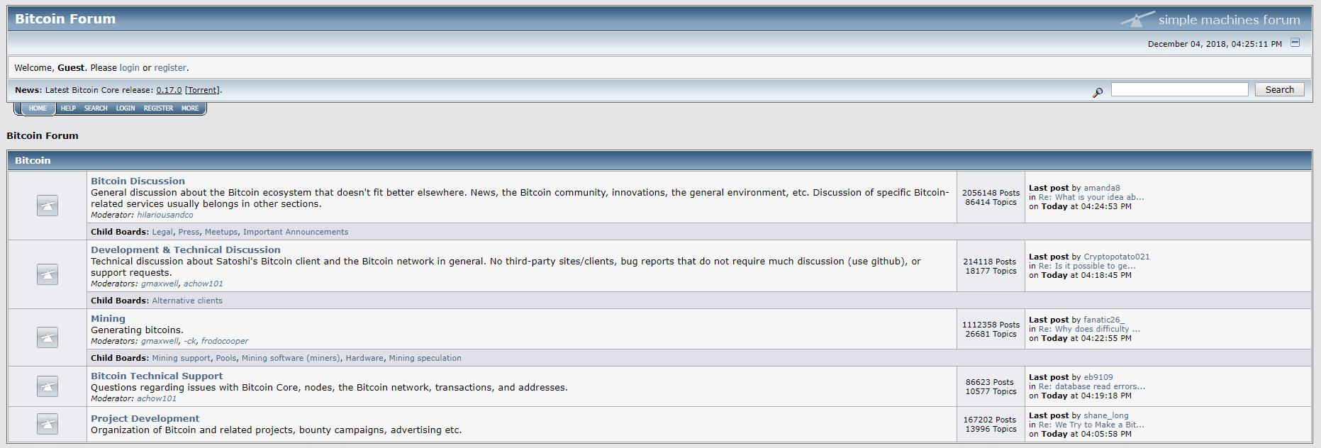 BitcoinTalk Bitcoin Forum