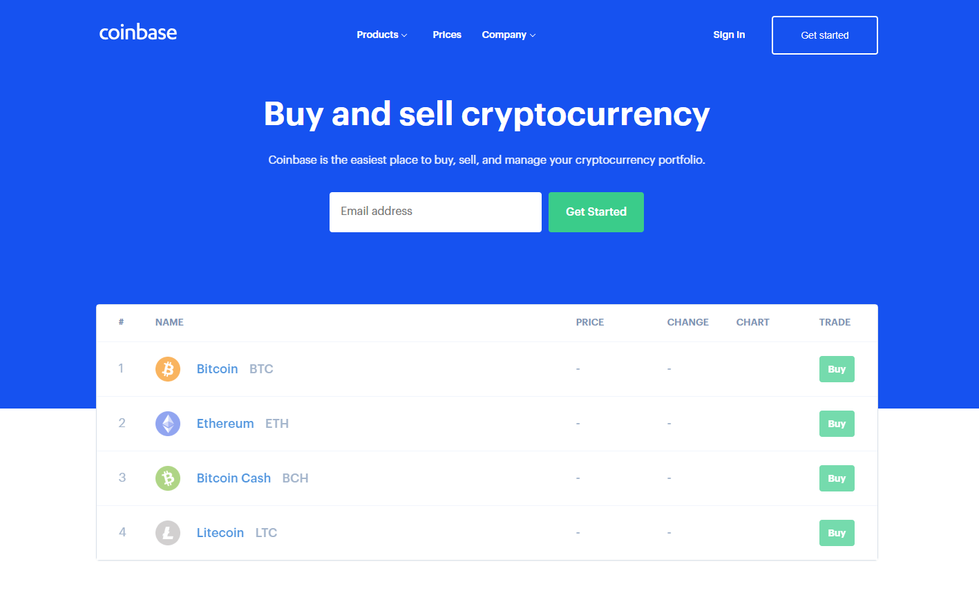 Buy Bitcoin Coinbase