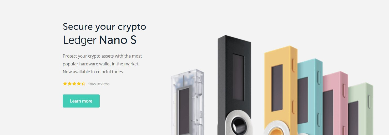 Ledger Nano S ETH Hardware Wallet