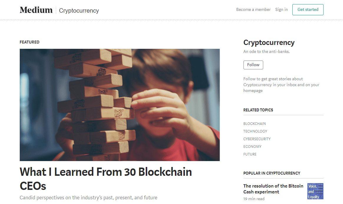 Medium Cryptocurrency