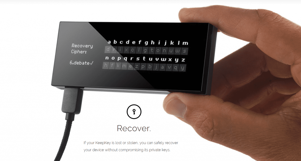 Recover KeepKey