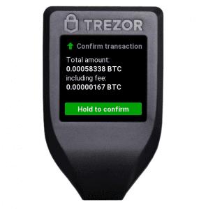 Trezor-Bestätigung