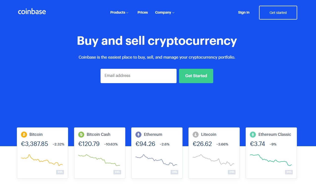 Homepage für Anfänger Bitcoin Exchange Coinbase