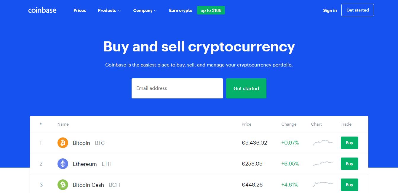 Visit Coinbase
