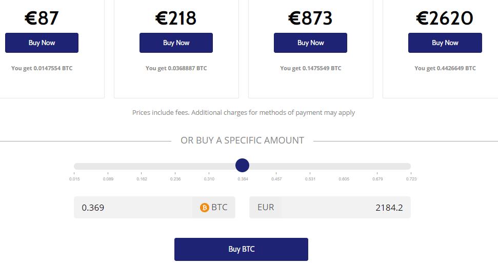 Buy BTC with Coinmama
