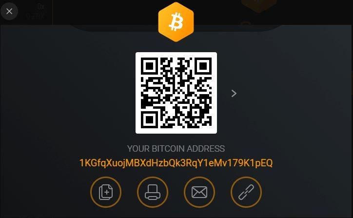 Exodus - Receiving Crypto