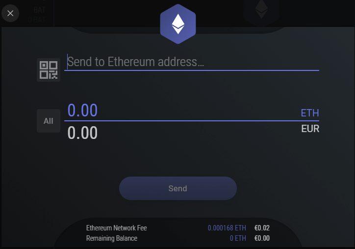 Exodus - Sending Crypto