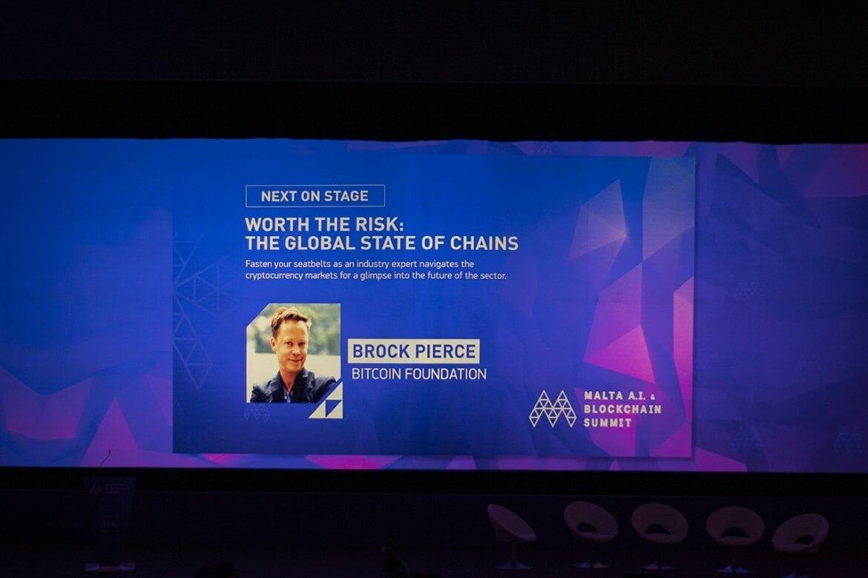 Brooke Pierce at the Malta Blockchain Summit