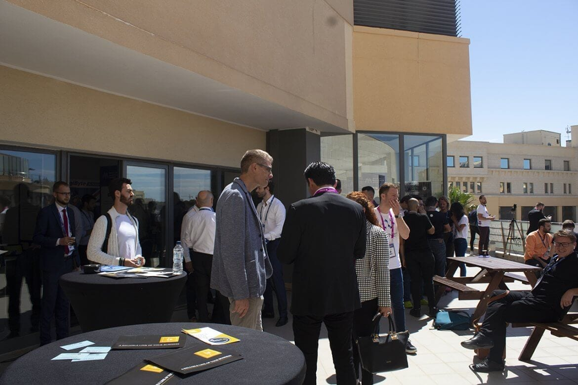Malta 2019 Blockchain Summit Networking