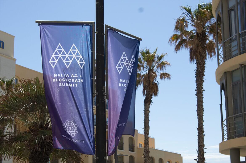 Malt Blockchain Summit Entrance