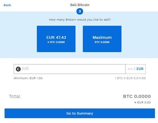 Bitpanda verkauft BTC Bild 1
