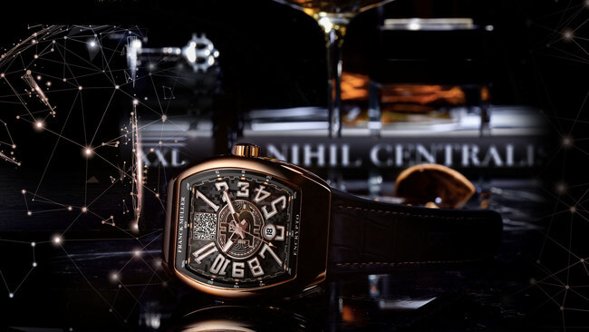 "Franck Muller Device Lets You ""Watch"" Your Crypto"