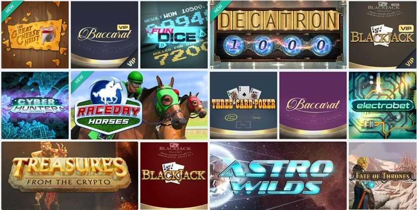 CasinoFair Games Variety