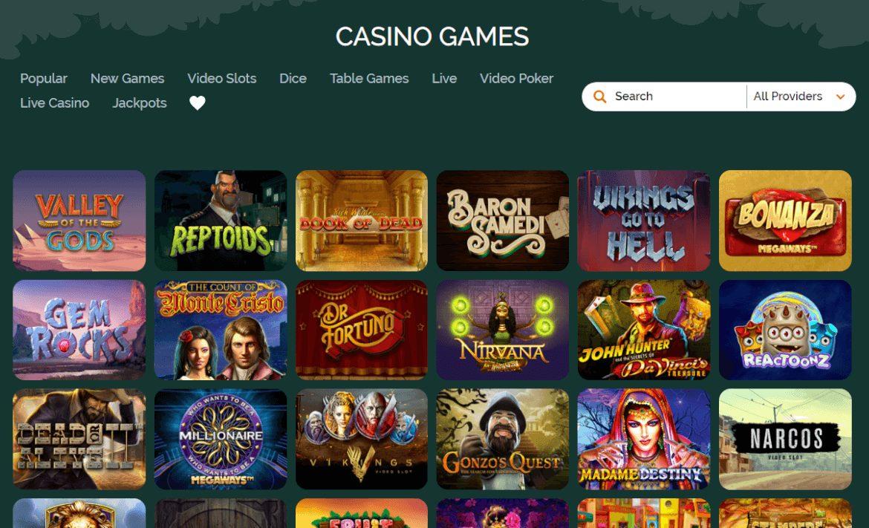 montecryptos casino games review