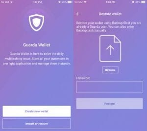 Guarda Wallet Backup