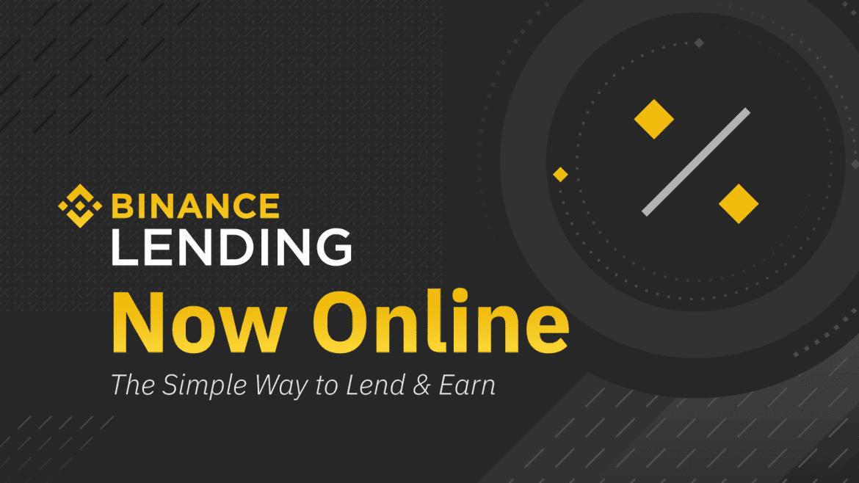 Binance Unveil New Lending Service