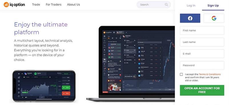 iqoption exchange review