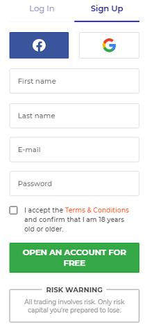 IQ Option Exchange Sign up