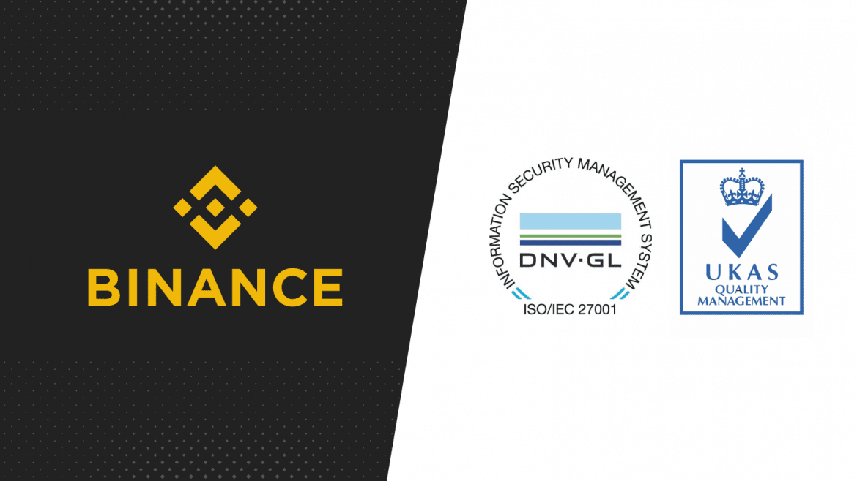 Binance Awarded Universal Security Accreditation