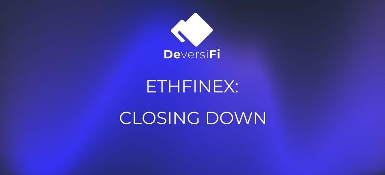 Ethfinex Reveal Further Details on Closure