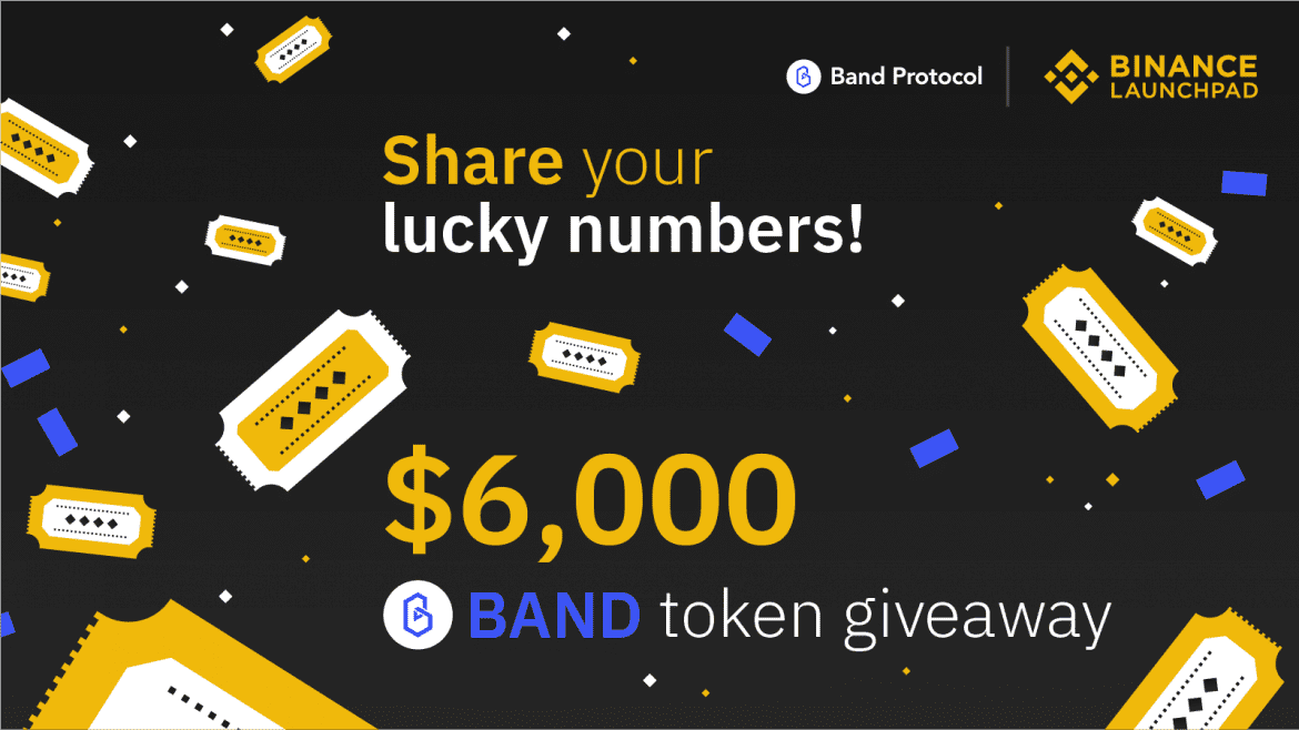 Band Lottery Promo Available Now on Binance