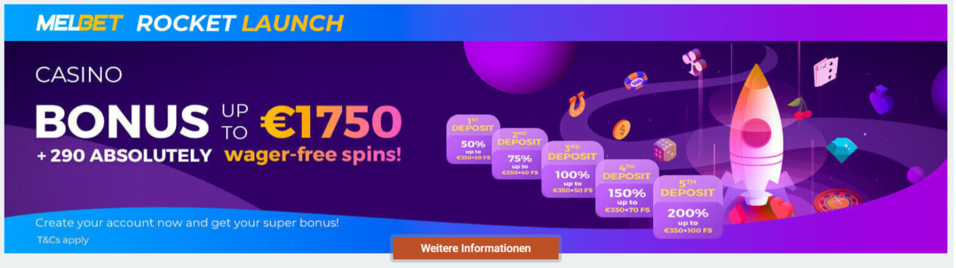 MelBet-Casino Boni