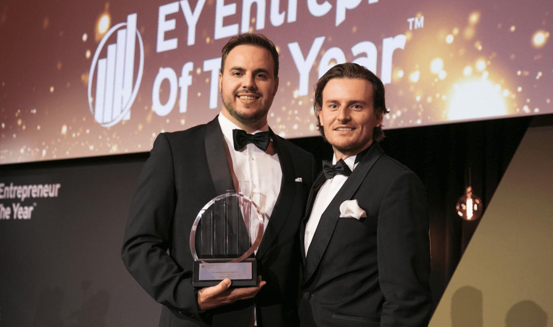 BitPanda CEOs Win Entrepreneur of the Year Award