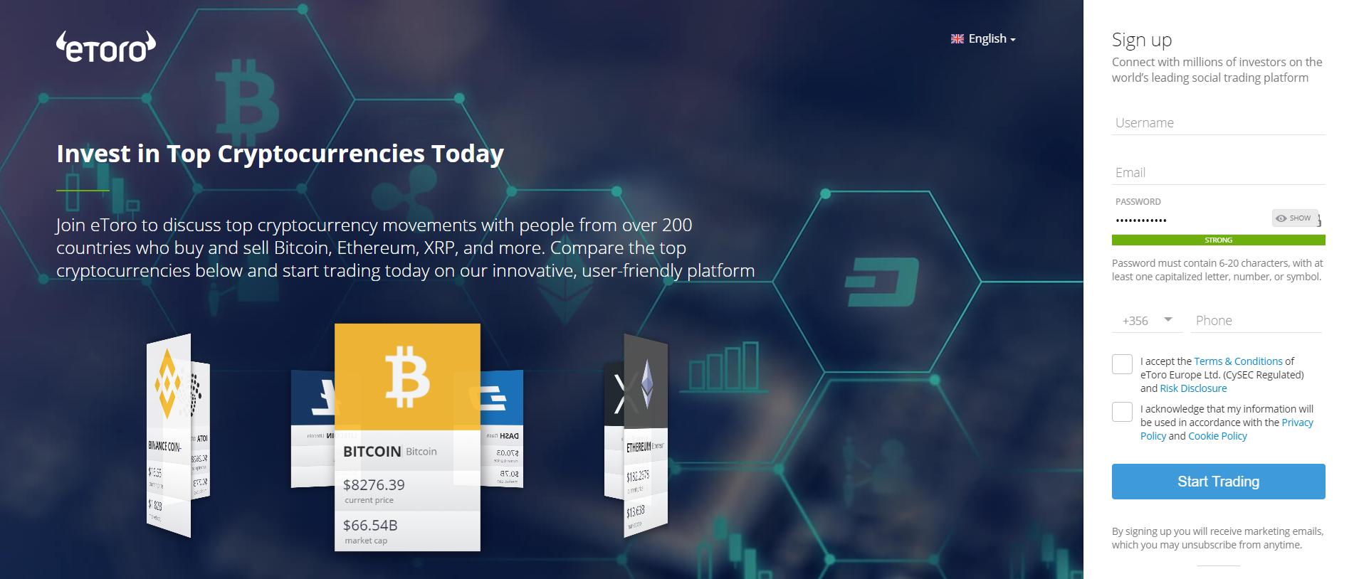 Buy Bitcoin With PayPal on eToro