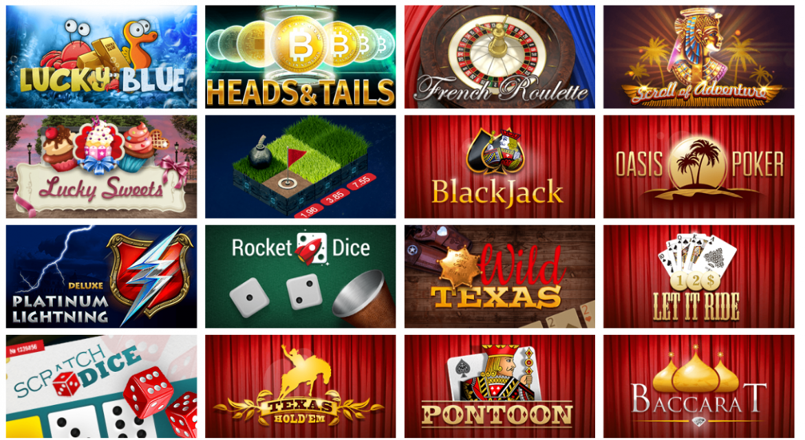 Syndicate Casino Games' Selection