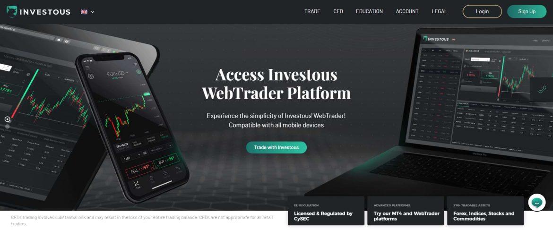 Investous Review Screenshot