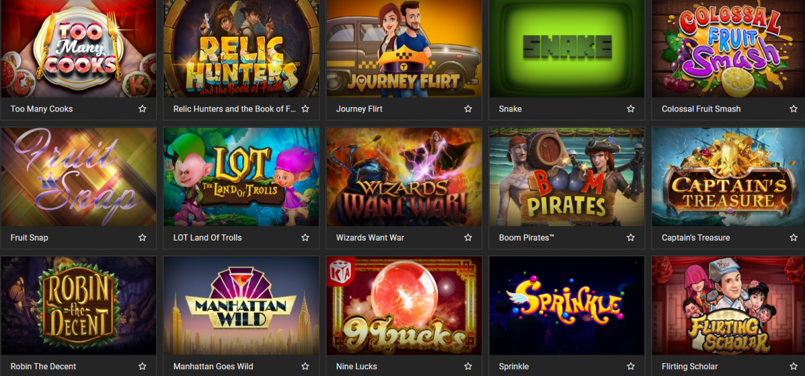 MelBet Casino Games' Selection