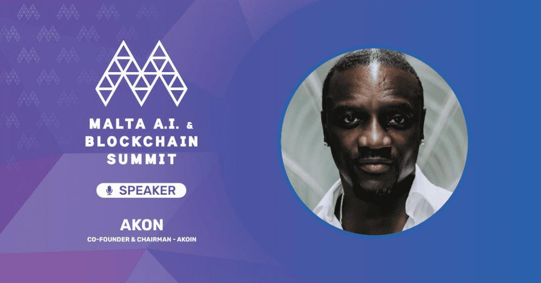 Award-Winning Rapper, Akon To Attend Malta A.I. & Blockchain Summit