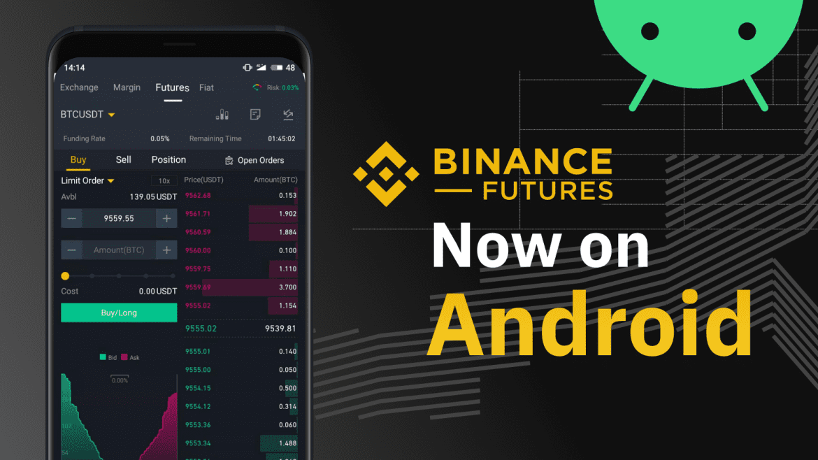Binance Launch Futures Trading on Android App