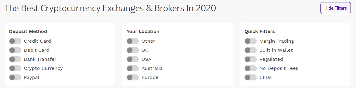 bitcoin broker comparison uk