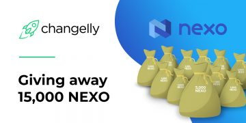 NEXO Giveaway Now Live at Changelly