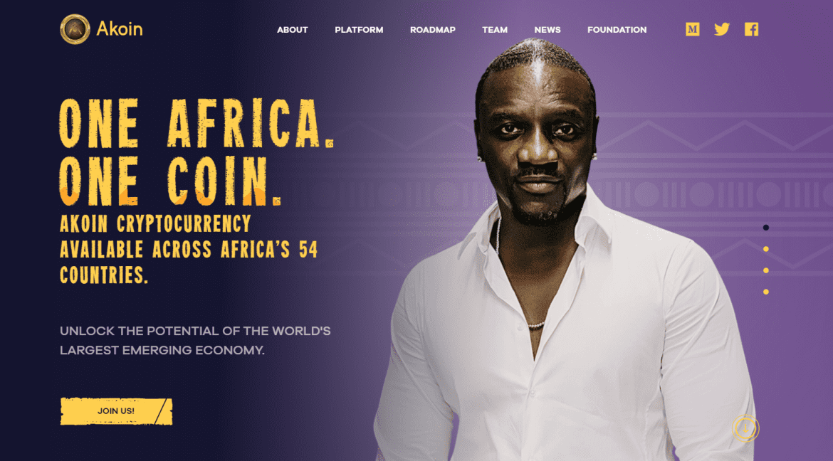 Akon's Akoin: A Futuristic Vision and Philanthropic Mission