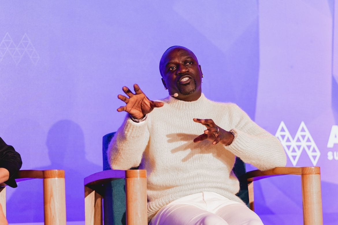 Akon discussing Akoin Cryptocurrency