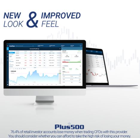 Plus500 Release New and Improved Web Trader Service