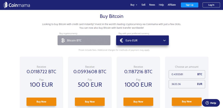 alternative to coinbase - coinmama