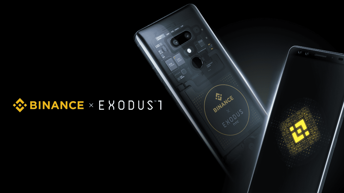 A Limited-Edition HTC Exodus 1 With Binance Support Released