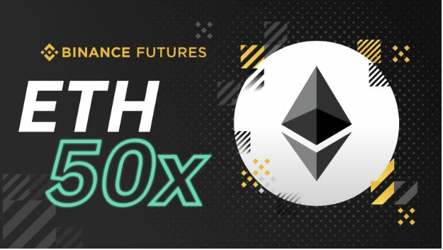 50x Max Leverage on ETH/USDT Contracts Live At Binance