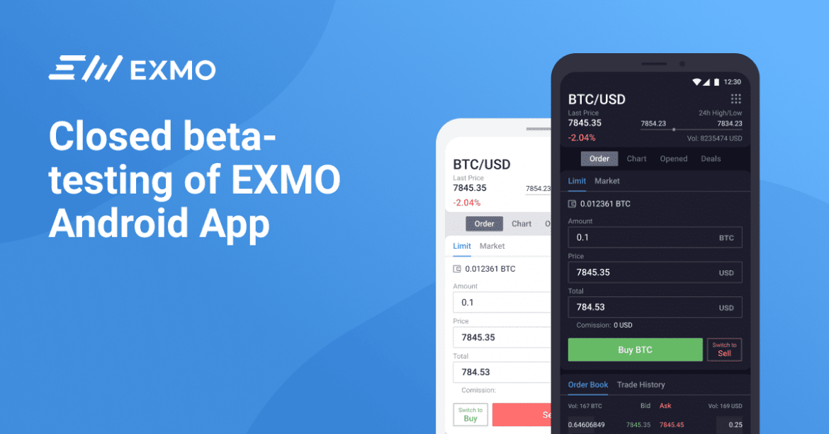 EXMO Announce Mobile App Release, EXM IEO 3rd Round and Velas (VLX) Listing