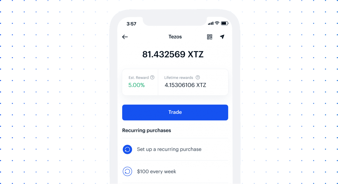 Coinbase Introduce Staking Rewards