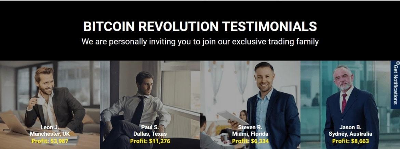Bitcoin Revolution - Testimonials
