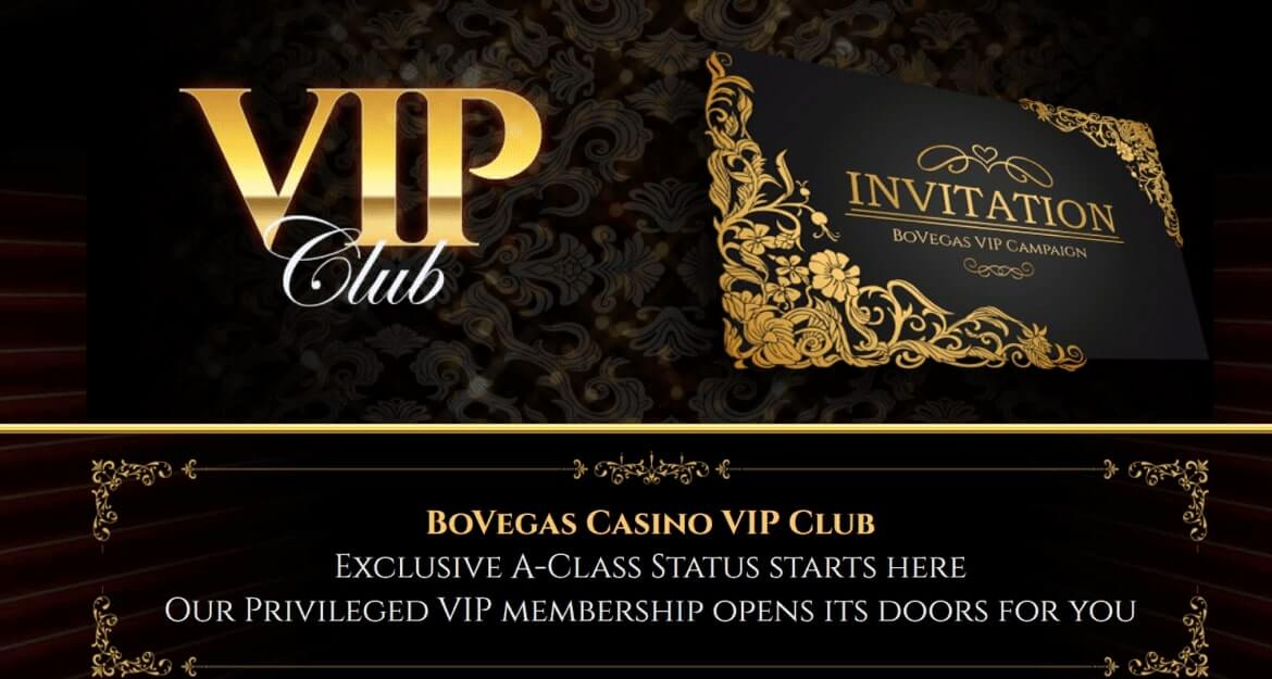 BoVegas Casino Review - VIP Section