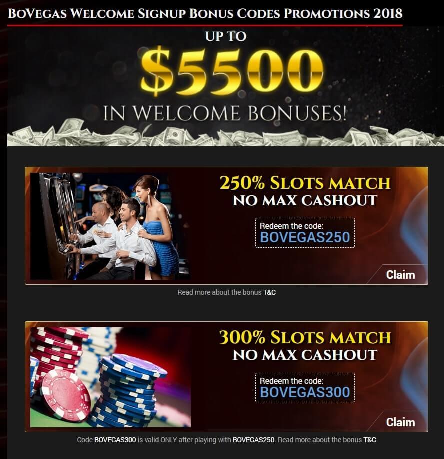 BoVegas Casino Review - Welcome Bonus