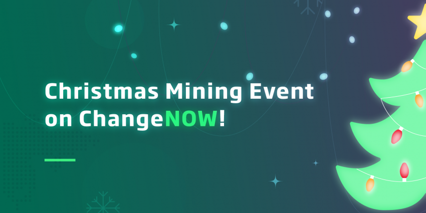 ChangeNow Hosting Christmas Mining Event