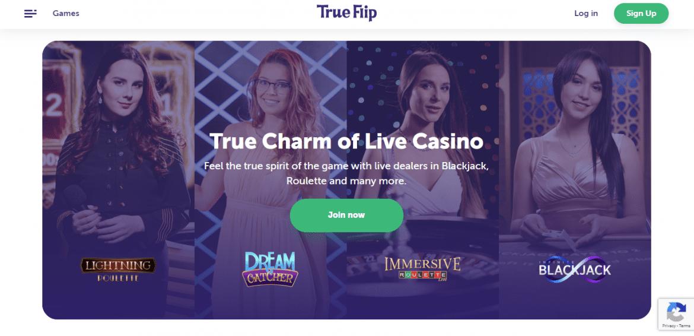 True Flip Live Casino