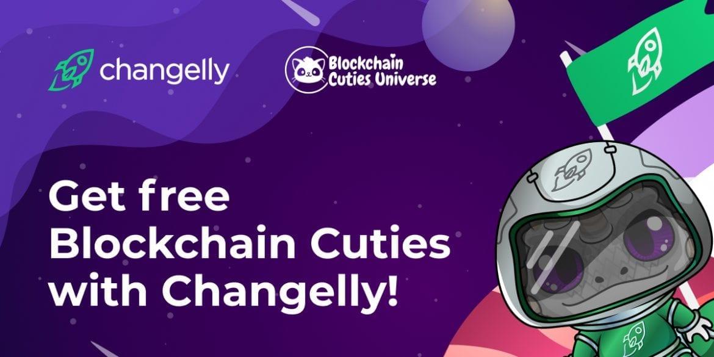 Get Free Blockchain Cuties Now at Changelly