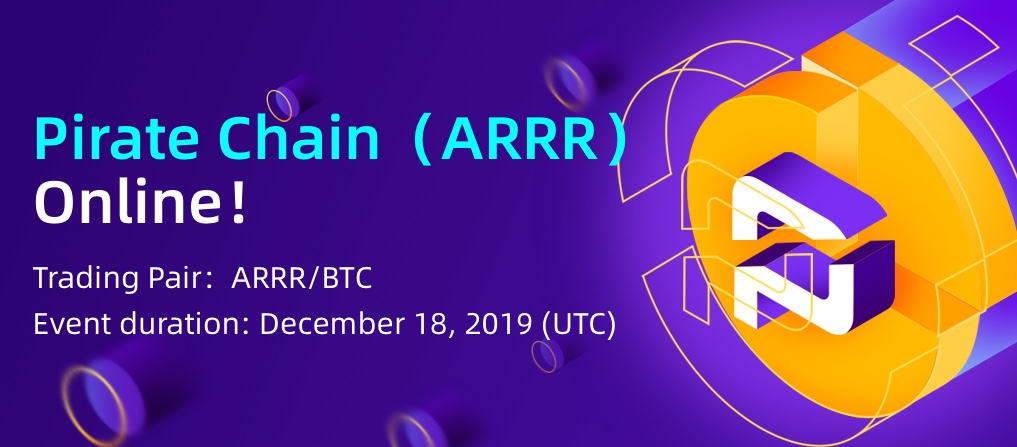 Pirate Chain (ARRR) Set For Trading on CoinEx